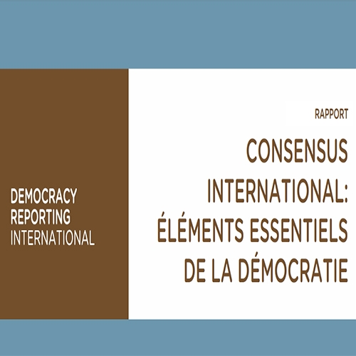 Consensus International : Éléments Essentiels de la Démocratie