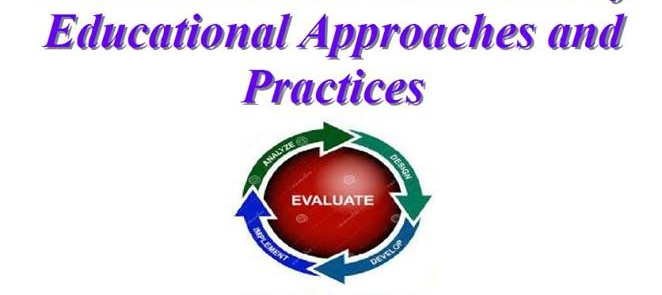 Evaluation and Assessment of Educational Approaches and Practices (Anglais)