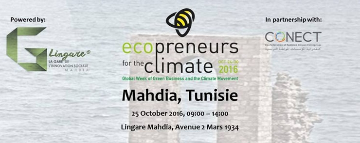 Ecopreneurs for the climate 2016