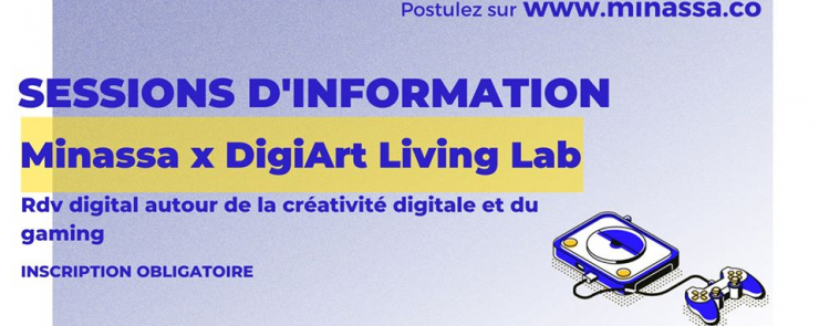 Session d'information | Minassa x DigiArt Living Lab