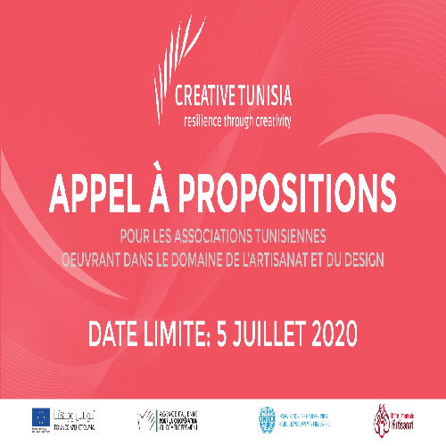 Appel à propositions – Creative Tunisia