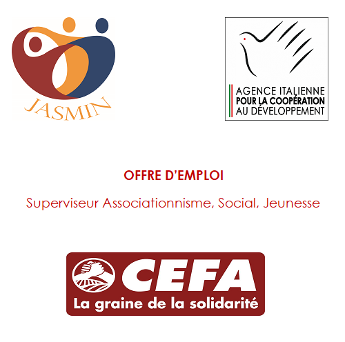 Superviseur Associationnisme, Social, Jeunesse – CEFA